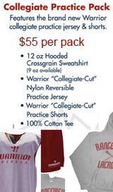 Warrior Collegiate Practice Wear Pack